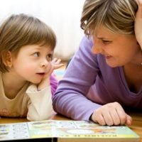 expressive and receptive language with child and therapist