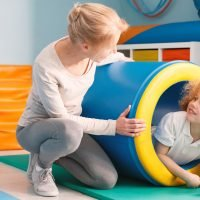 child and pediatric occupational therapist
